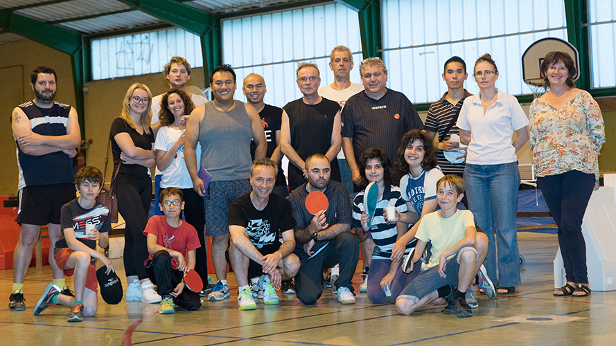Tournoi 2016 photo de groupe.